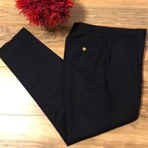 Vintage Ralph Lauren Dark Navy Wool Pants